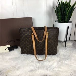 Authentic Louis Vuitton LUCO bag or tote M51155